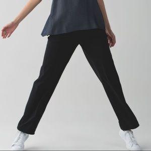 LULULEMON City Summer Pant Track Pants Black 6